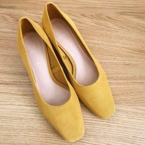 Zara Suede mini heels